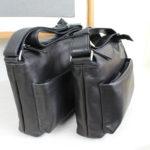 人気のショルダーバッグに、オールブラックモデルが登場!